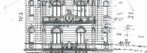 KuDamm 123, Fassadenzeichnung